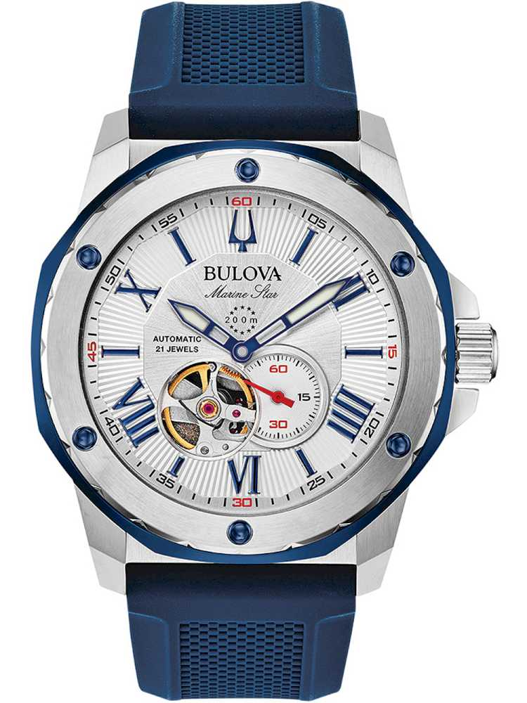 Bulova 98A225 Herreur Marine Star