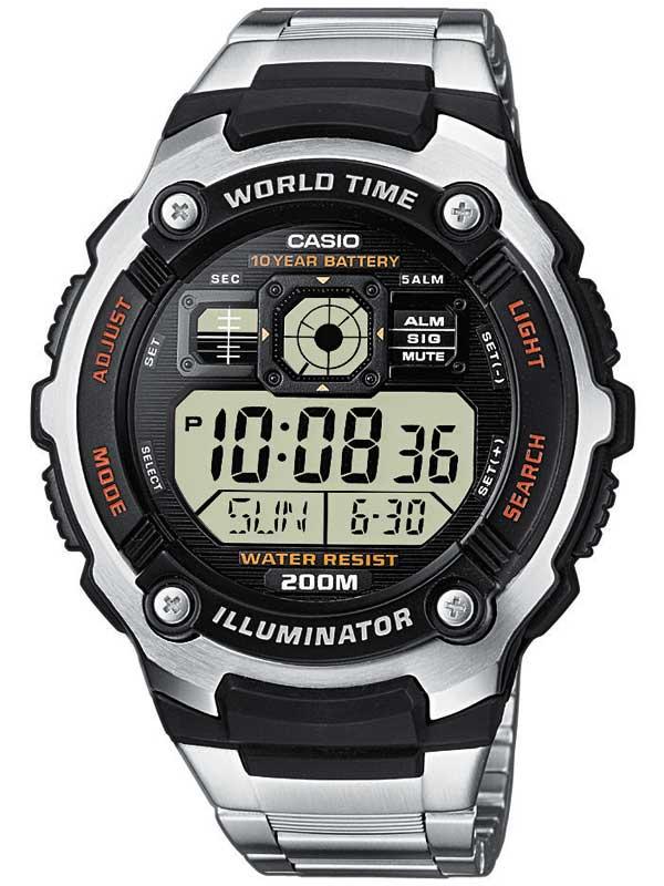 Casio AE-2000WD-1AVEF Herreur