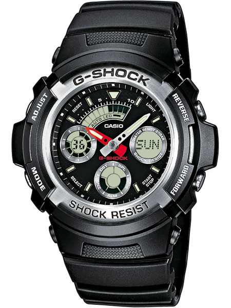 Casio AW-590-1AER Herreur G-Shock Ur Sort