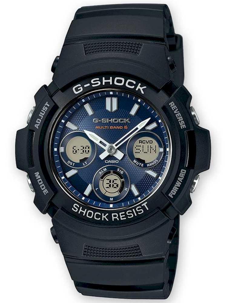 Casio AWG-M100SB-2AER Herreur G-Shock Ur Sort