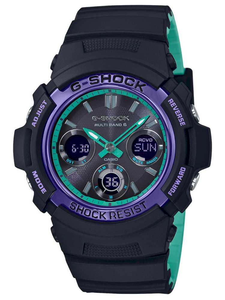 Casio AWG-M100SBL-1AER Herreur G-Shock Ur Sort