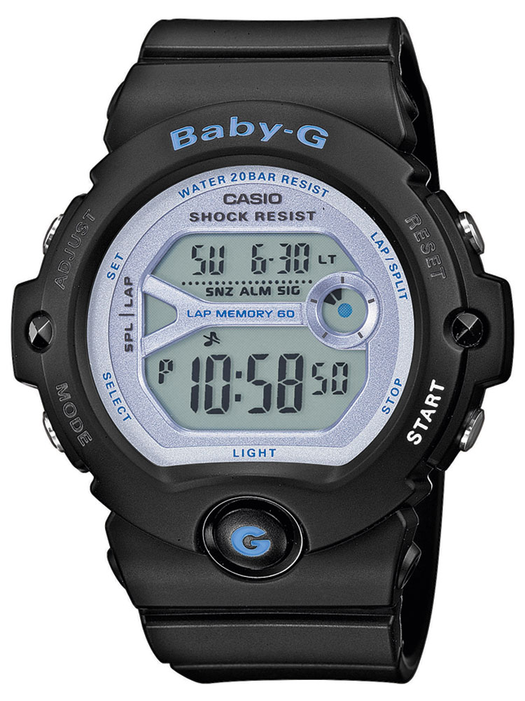 Casio BG-6903-1ER Dameur Baby-G Ur Sort