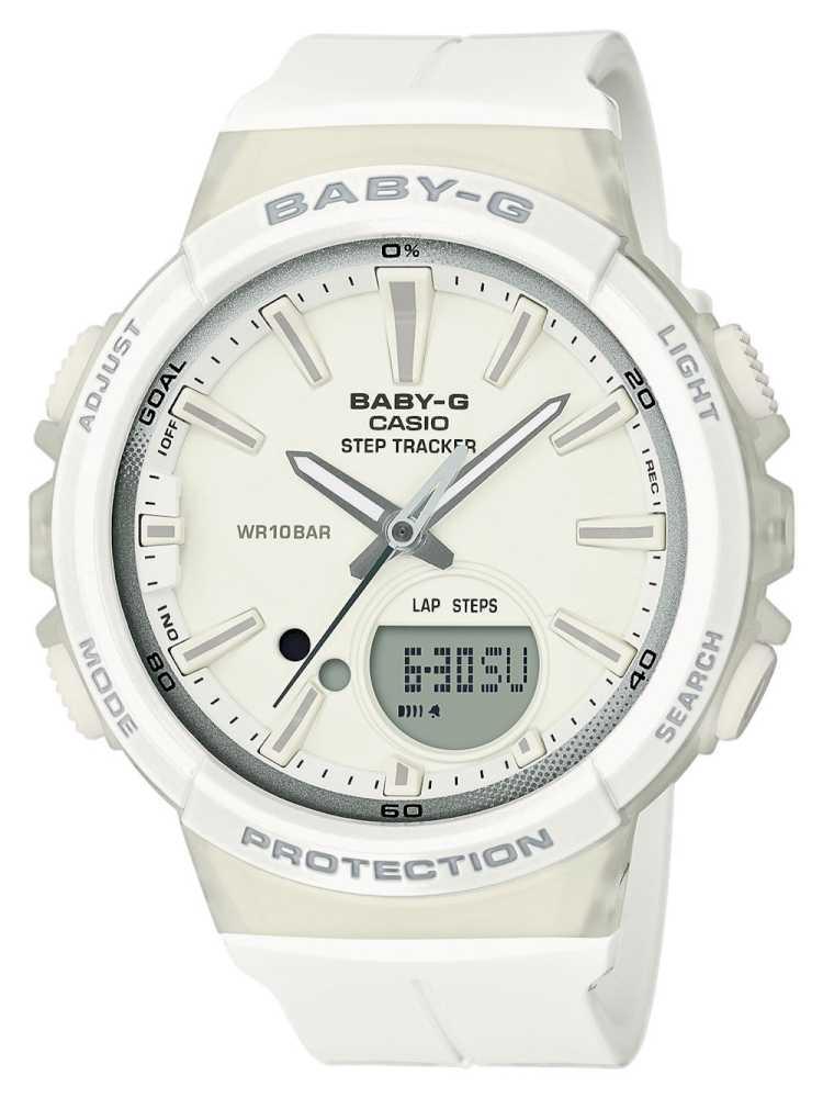 Casio BGS-100-7A1ER Dameur Baby-G Hvidt Ur