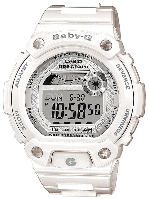 Casio BLX-100-7ER Dameur Baby-G Hvidt Ur