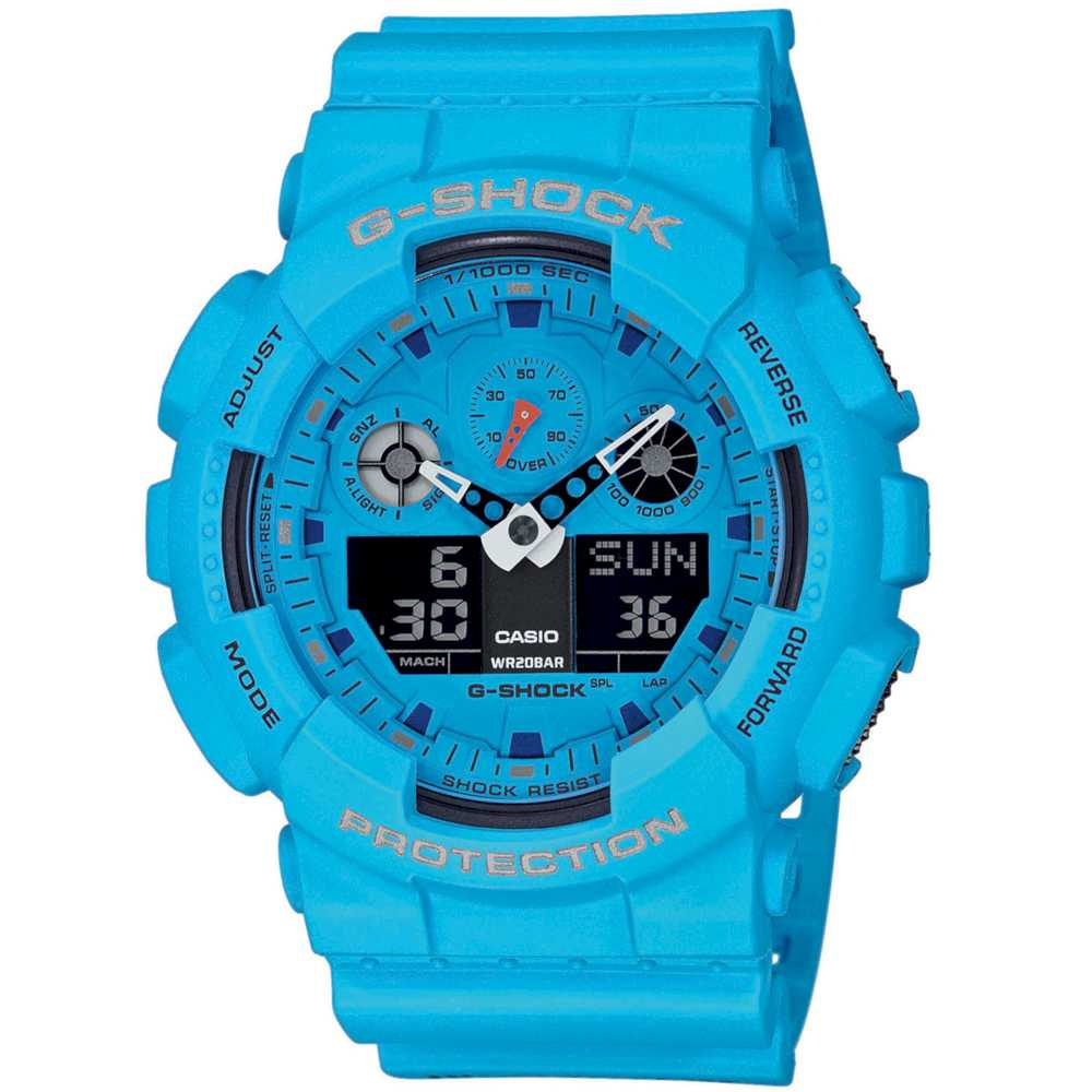 Casio GA-100RS-2AER Herreur G-Shock
