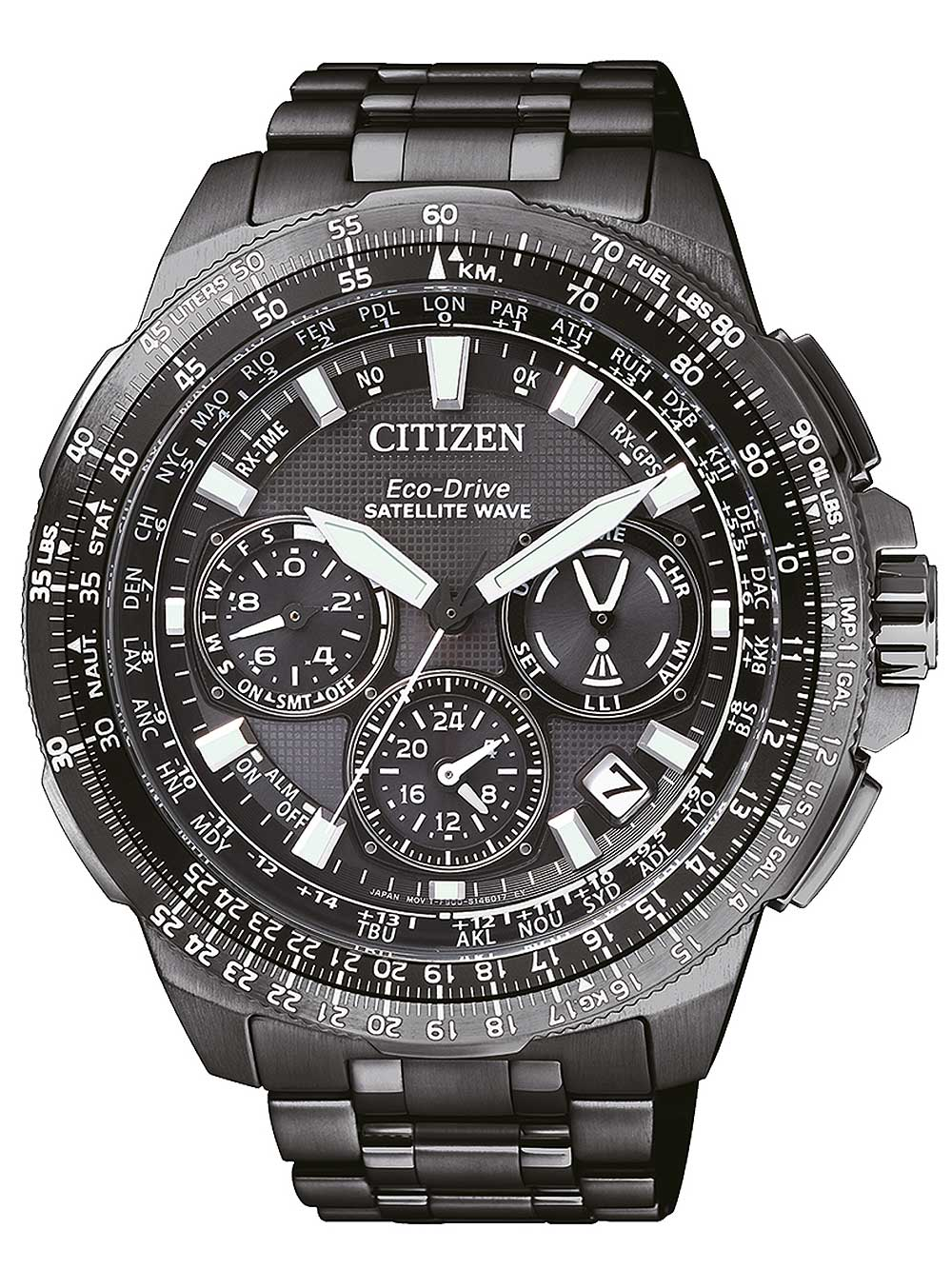 Citizen CC9025-51E Herreur Eco-Drive Sort Ur