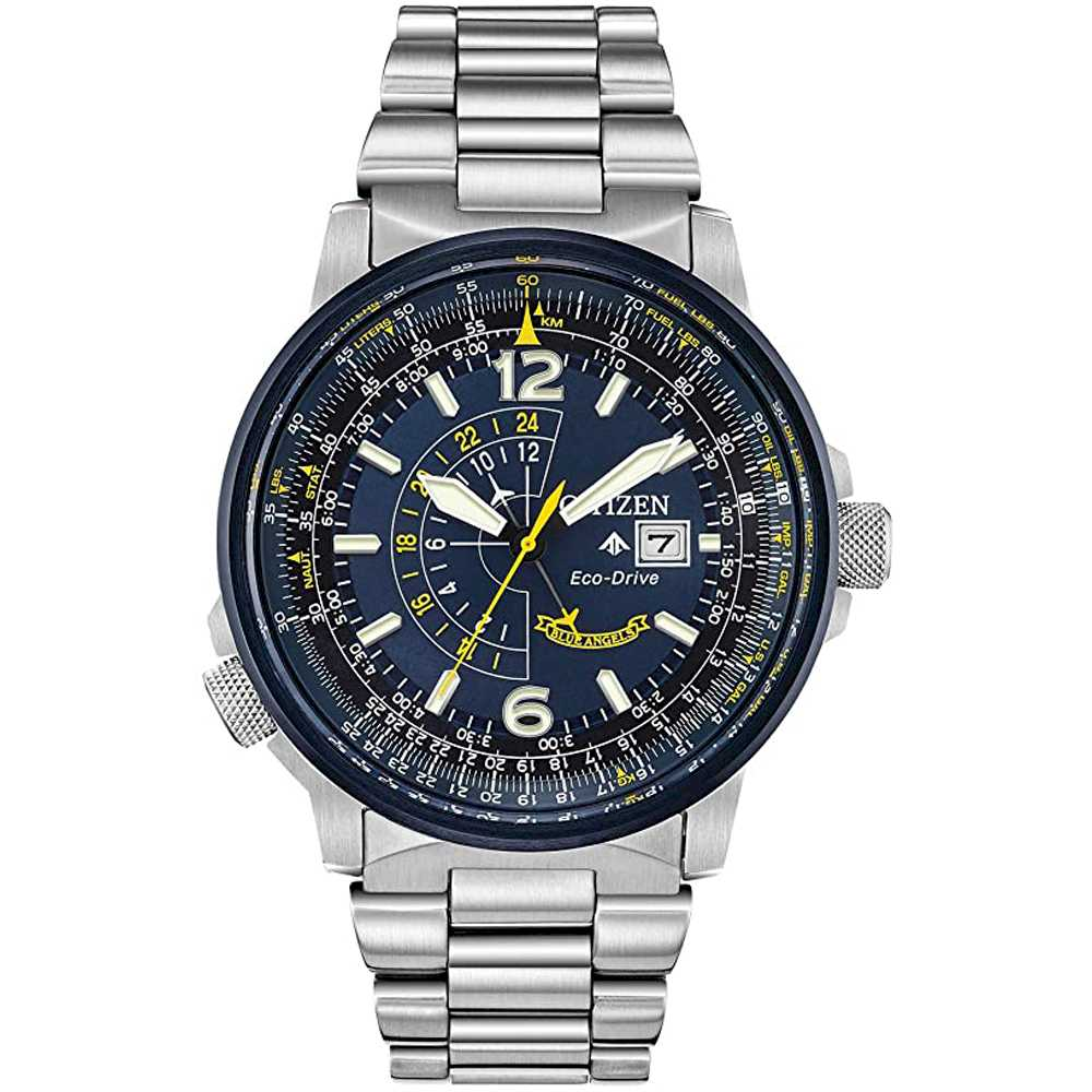Citizen BJ7006-56L Herreur Nighthawk Eco-Drive