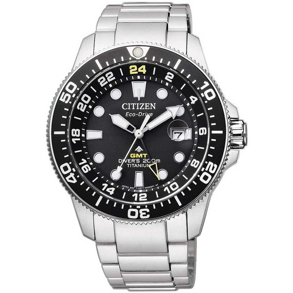 Citizen BJ7110-89E Herreur Eco-Drive Titanium Ur