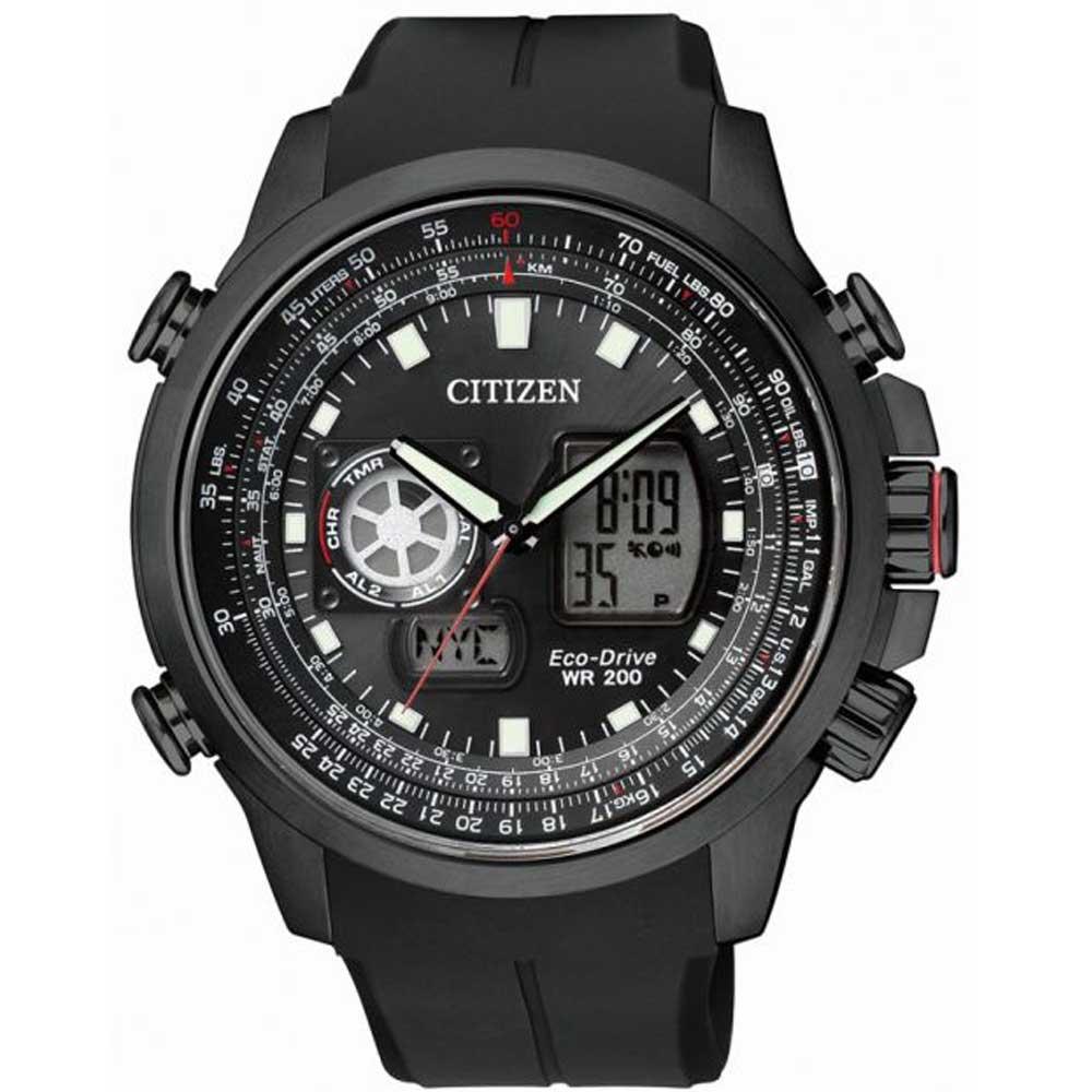 Citizen JZ1065-05E Herreur Sort Ur