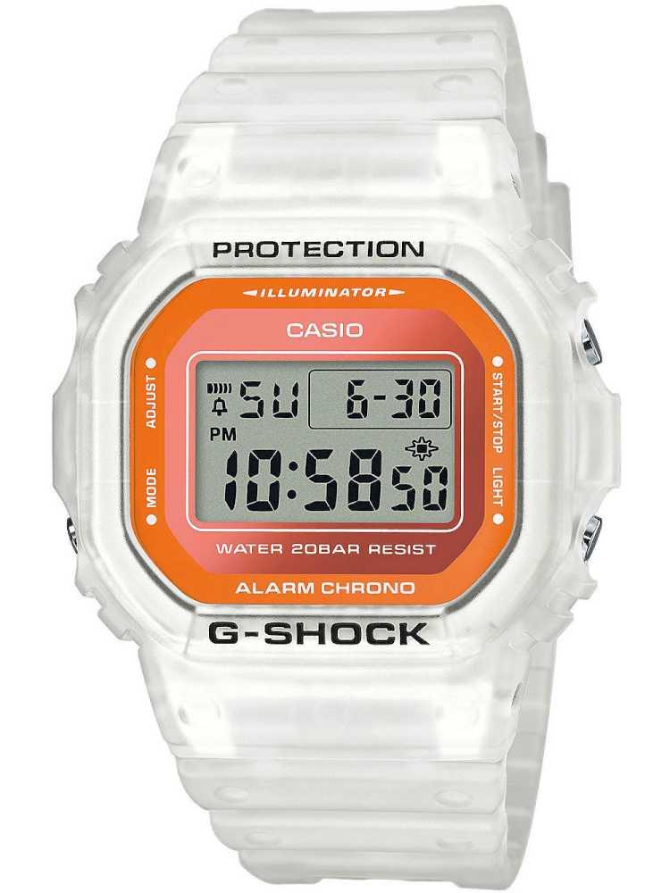 Casio DW-5600LS-7ER Herreur G-Shock Hvidt Ur