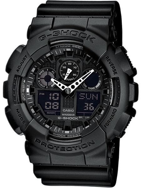 Casio GA-100-1A1ER Herreur G-Shock Ur Sort