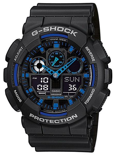 Casio GA-100-1A2ER Herreur G-Shock Ur Sort