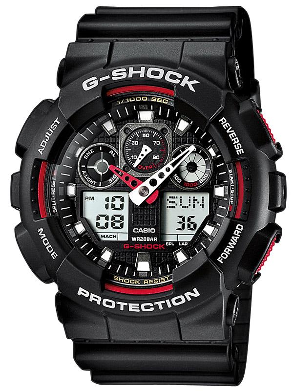 Casio GA-100-1A4ER Herreur G-Shock