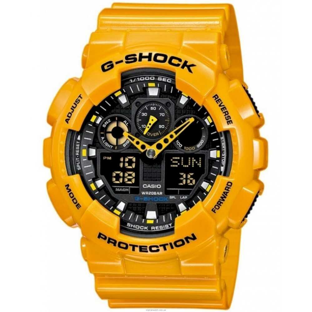 Casio GA-100A-9AER Herreur G-Shock