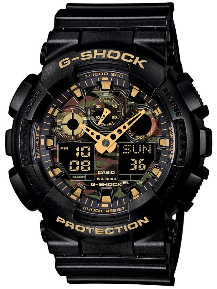 Casio GA-100CF-1A9ER Herreur G-Shock Ur Sort