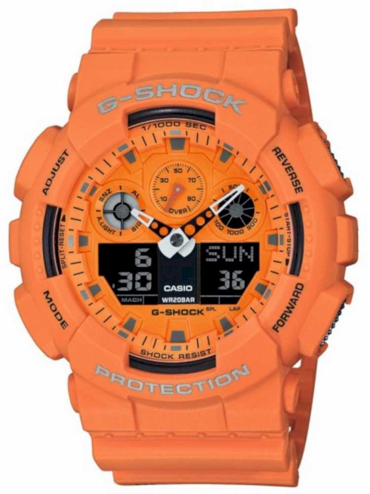 Casio GA-100RS-4AER Herreur G-Shock