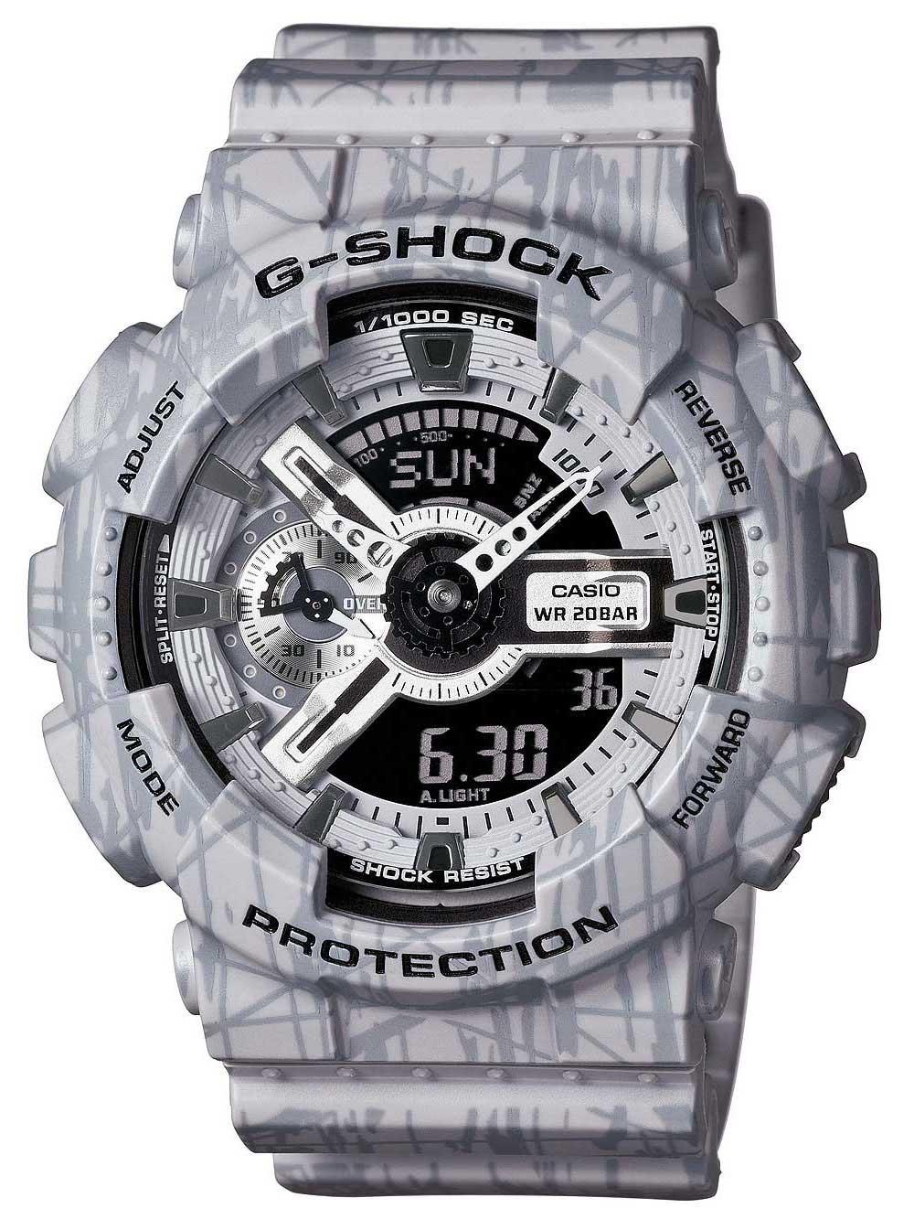 Casio GA-110SL-8AER Herreur G-Shock