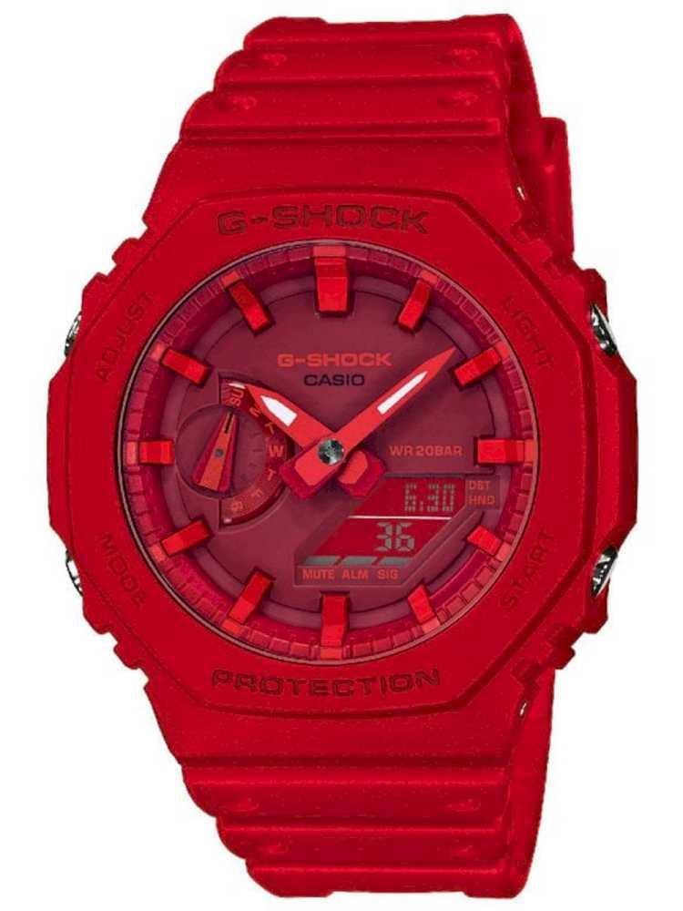 Casio GA-2100-4AER Herreur G-Shock Ur Rødt