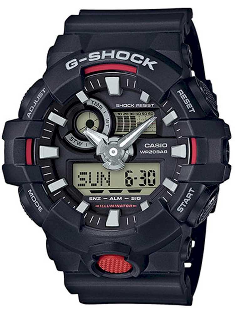 Casio GA-700-1AER Herreur G-Shock Ur Sort