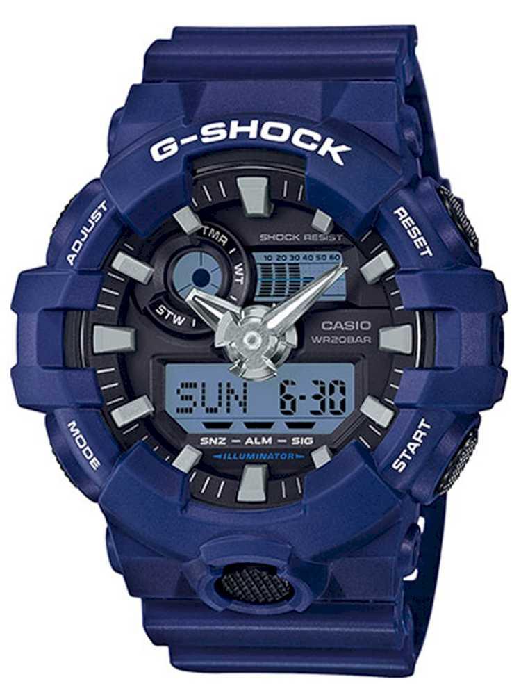 Casio GA-700-2AER Herreur G-Shock Ur Blåt