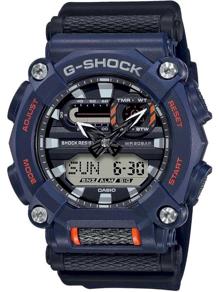 Casio GA-900-2AER Herreur G-Shock Ur Blåt