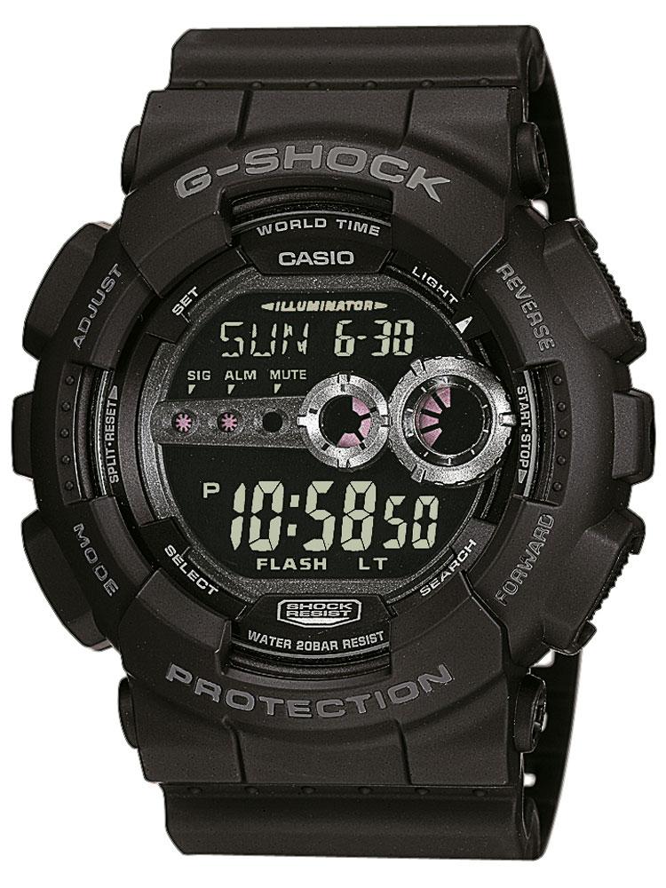 Casio GD-100-1BER Herreur G-Shock Ur Sort