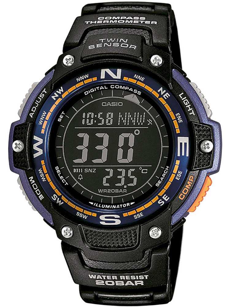 Casio SGW-100-2BER Herreur med kompas